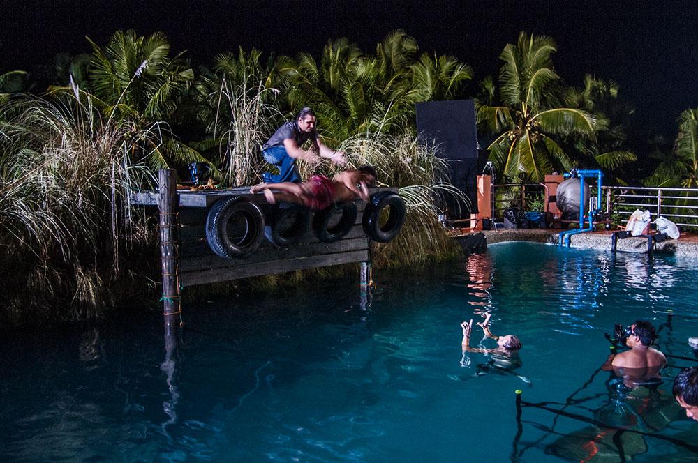 Test Run - Drowning Scene