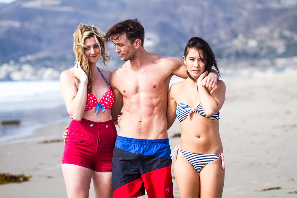Jen, Emrhys and Bex