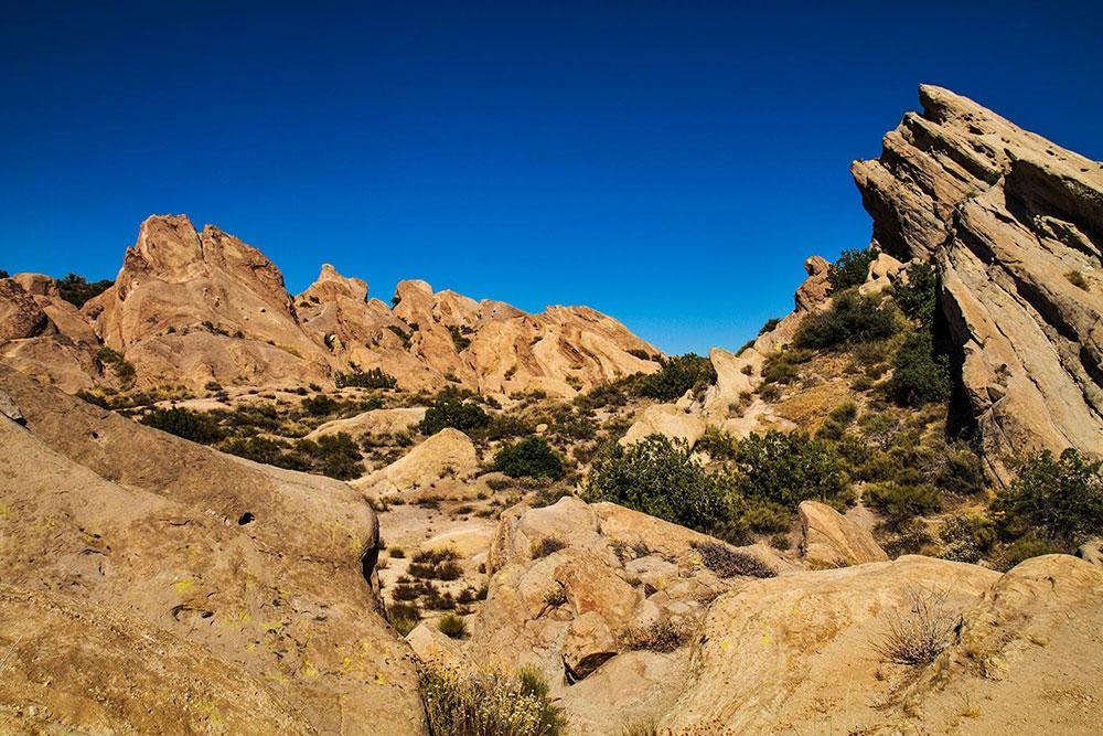 Vasquez Rocks, California