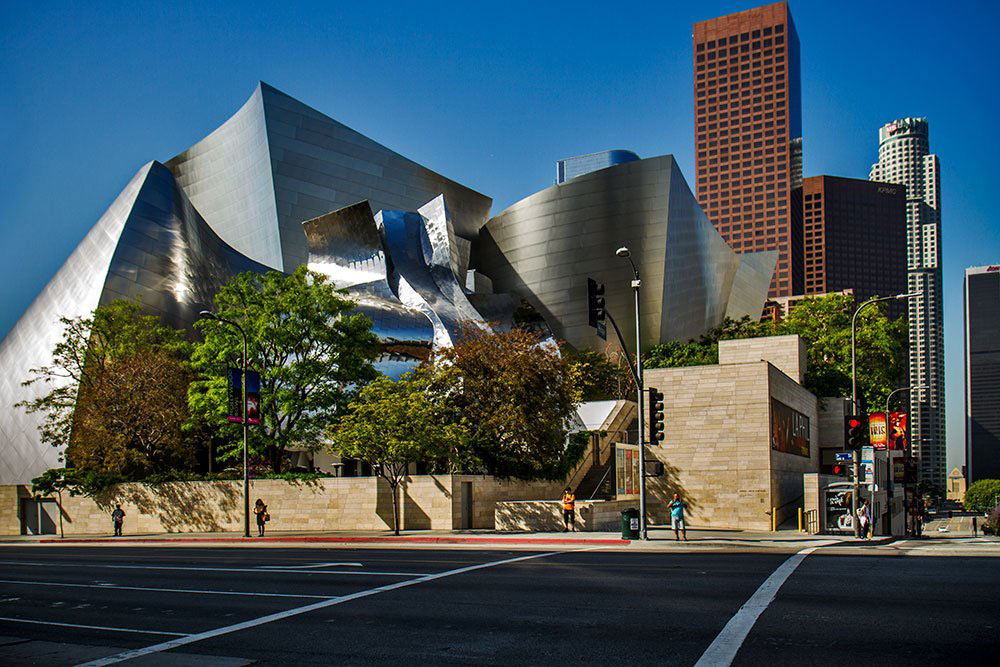 Walt Disney Hall, Downtown Los Angeles